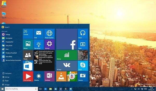 Обзор Windows 10 Preview